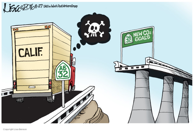 Cartoonist Lisa Benson  Lisa Benson's Editorial Cartoons 2016-08-27 dioxide