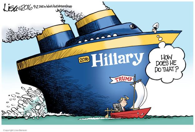 Cartoonist Lisa Benson  Lisa Benson's Editorial Cartoons 2016-09-02 small