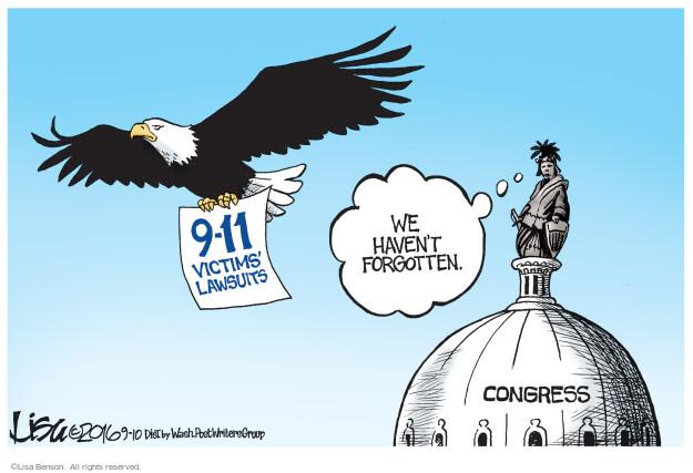 Lisa Benson  Lisa Benson's Editorial Cartoons 2016-09-10 terrorist