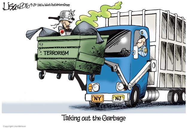 Lisa Benson  Lisa Benson's Editorial Cartoons 2016-09-20 New York