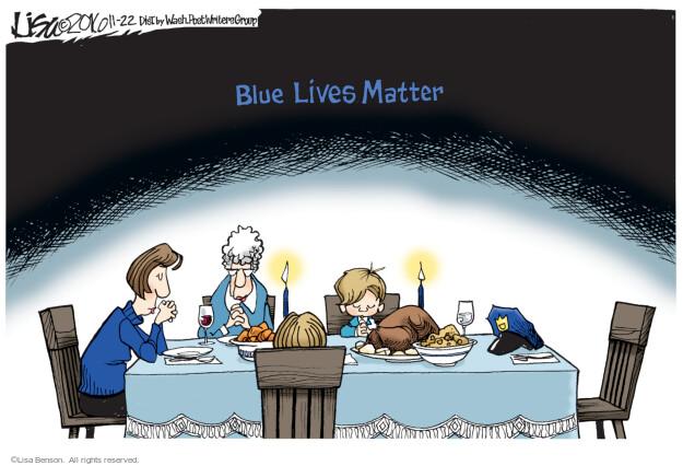 Lisa Benson  Lisa Benson's Editorial Cartoons 2016-11-22 fatality