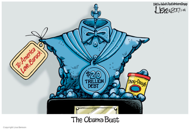 Cartoonist Lisa Benson  Lisa Benson's Editorial Cartoons 2017-01-14 federal budget