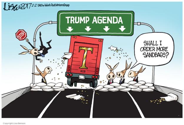 Cartoonist Lisa Benson  Lisa Benson's Editorial Cartoons 2017-02-02 speed