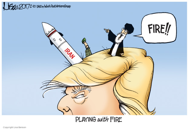 Cartoonist Lisa Benson  Lisa Benson's Editorial Cartoons 2017-02-10 president