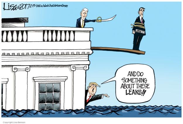 Lisa Benson  Lisa Benson's Editorial Cartoons 2017-02-15 Mike Pence