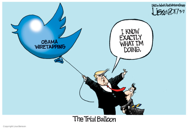 Cartoonist Lisa Benson  Lisa Benson's Editorial Cartoons 2017-03-07 trial