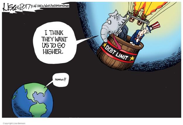 Lisa Benson  Lisa Benson's Editorial Cartoons 2017-03-14 federal budget