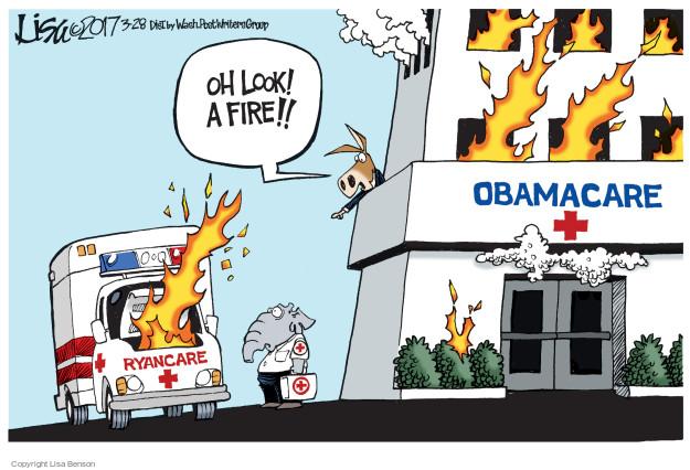 Cartoonist Lisa Benson  Lisa Benson's Editorial Cartoons 2017-03-28 congress health care