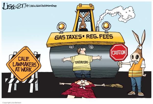Lisa Benson  Lisa Benson's Editorial Cartoons 2017-04-01 state legislation