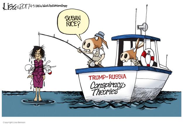 Susan Rice? Trump-Russia. Conspiracy theories.