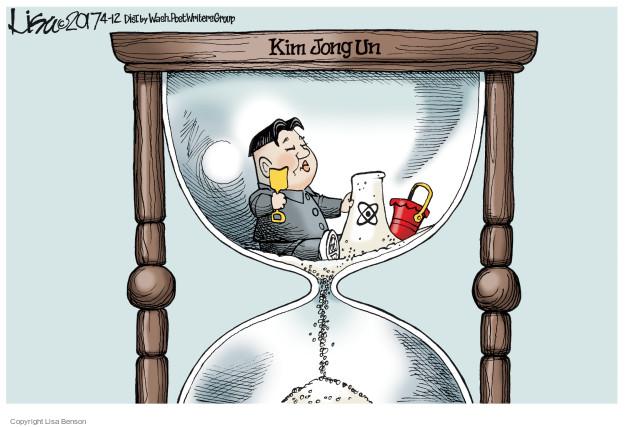 Cartoonist Lisa Benson  Lisa Benson's Editorial Cartoons 2017-04-12 time