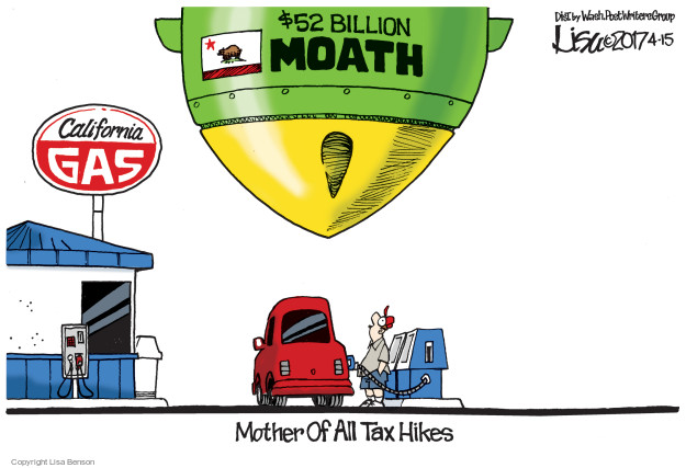 Lisa Benson  Lisa Benson's Editorial Cartoons 2017-04-15 tax