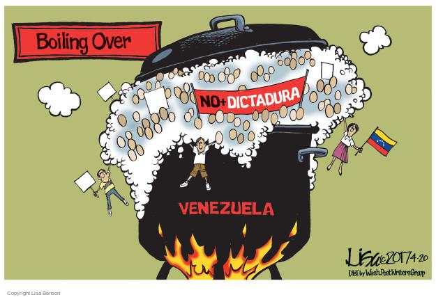 Cartoonist Lisa Benson  Lisa Benson's Editorial Cartoons 2017-04-20 violence