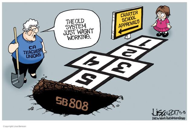 Cartoonist Lisa Benson  Lisa Benson's Editorial Cartoons 2017-05-05 union