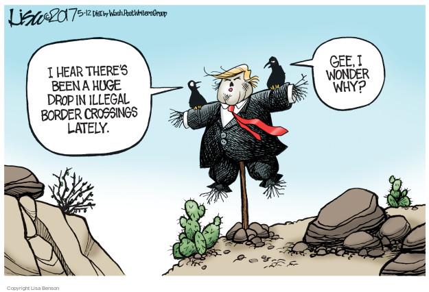 Cartoonist Lisa Benson  Lisa Benson's Editorial Cartoons 2017-05-12 immigrant