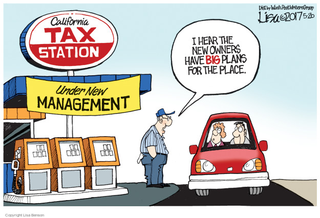 Lisa Benson  Lisa Benson's Editorial Cartoons 2017-05-20 tax