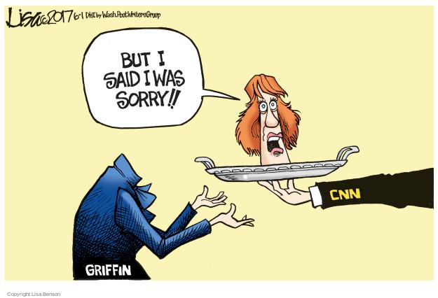 Cartoonist Lisa Benson  Lisa Benson's Editorial Cartoons 2017-06-01 Donald Trump