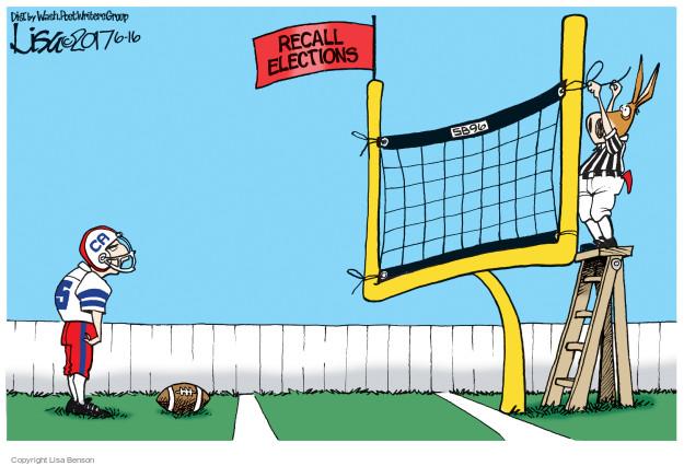 Lisa Benson  Lisa Benson's Editorial Cartoons 2017-06-16 state legislation