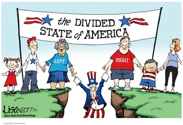Lisa Benson  Lisa Benson's Editorial Cartoons 2017-07-01 right