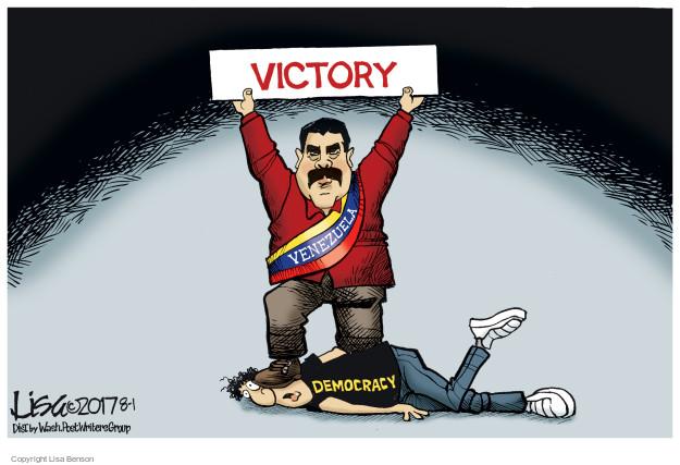 Cartoonist Lisa Benson  Lisa Benson's Editorial Cartoons 2017-08-01 power