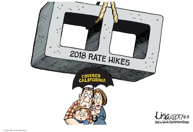 2018 rate hikes. Covered California.