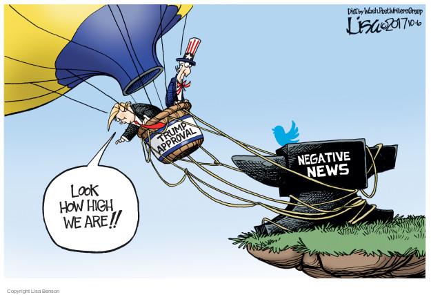 Cartoonist Lisa Benson  Lisa Benson's Editorial Cartoons 2017-10-06 social media politics