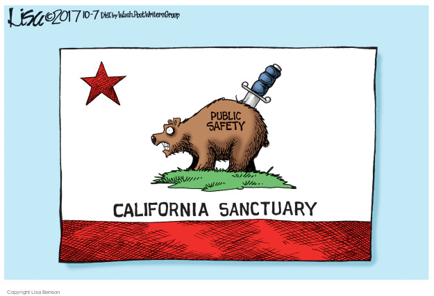Lisa Benson  Lisa Benson's Editorial Cartoons 2017-10-07 laws