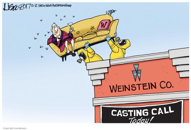 Lisa Benson  Lisa Benson's Editorial Cartoons 2017-10-12 assault