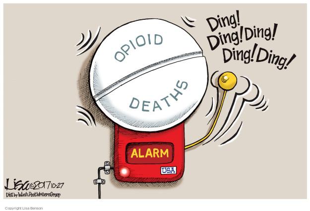 Lisa Benson  Lisa Benson's Editorial Cartoons 2017-10-27 death