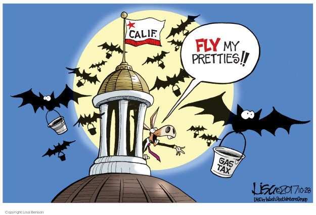 Lisa Benson  Lisa Benson's Editorial Cartoons 2017-10-28 gas