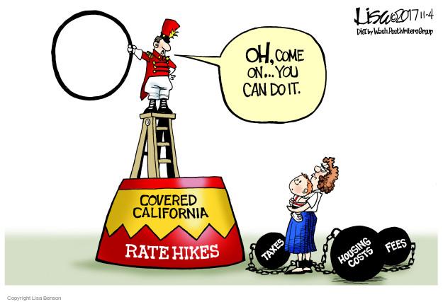 Cartoonist Lisa Benson  Lisa Benson's Editorial Cartoons 2017-11-04 tax