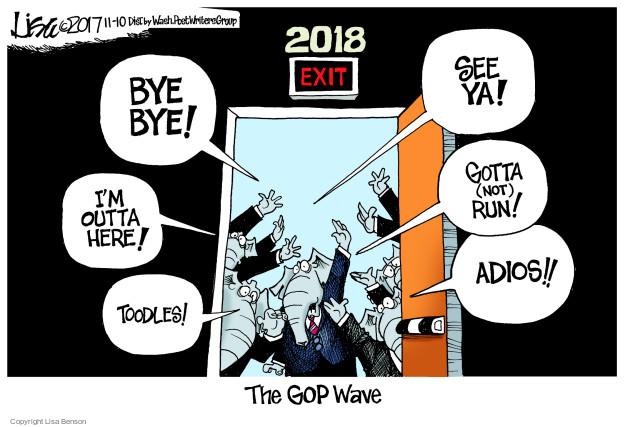 Lisa Benson  Lisa Benson's Editorial Cartoons 2017-11-10 midterm election