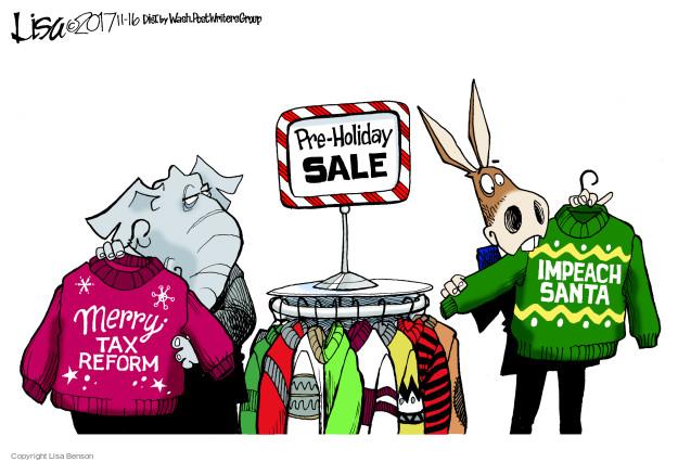 Lisa Benson  Lisa Benson's Editorial Cartoons 2017-11-16 republican politician