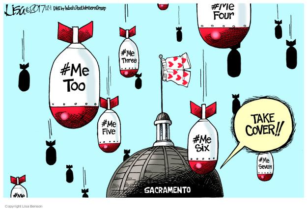 Cartoonist Lisa Benson  Lisa Benson's Editorial Cartoons 2017-12-01 politics