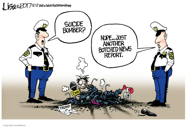 Lisa Benson  Lisa Benson's Editorial Cartoons 2017-12-12 bomber