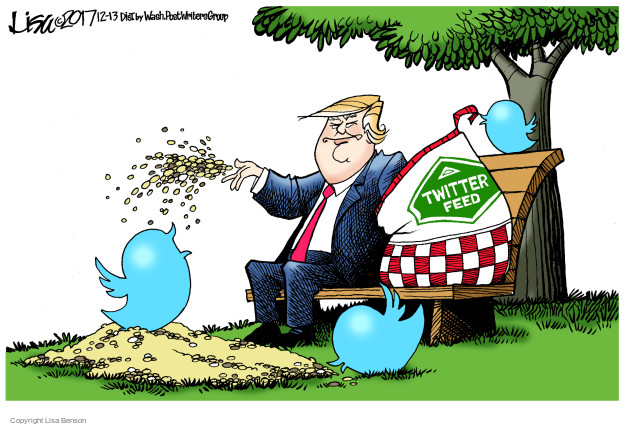 Cartoonist Lisa Benson  Lisa Benson's Editorial Cartoons 2017-12-13 politics