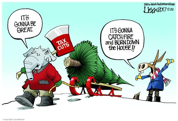 Cartoonist Lisa Benson  Lisa Benson's Editorial Cartoons 2017-12-20 congressional leadership