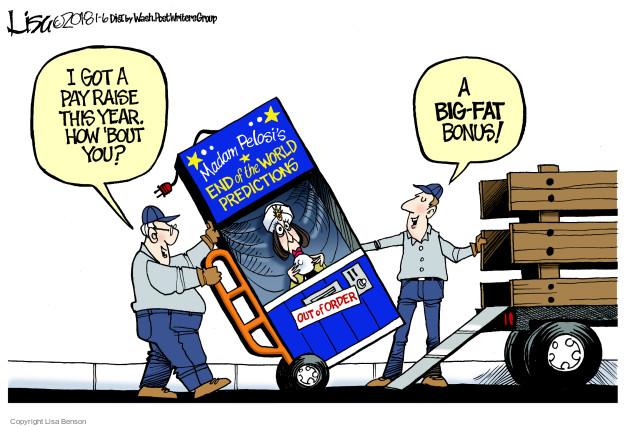 Cartoonist Lisa Benson  Lisa Benson's Editorial Cartoons 2018-01-06 presidential leadership