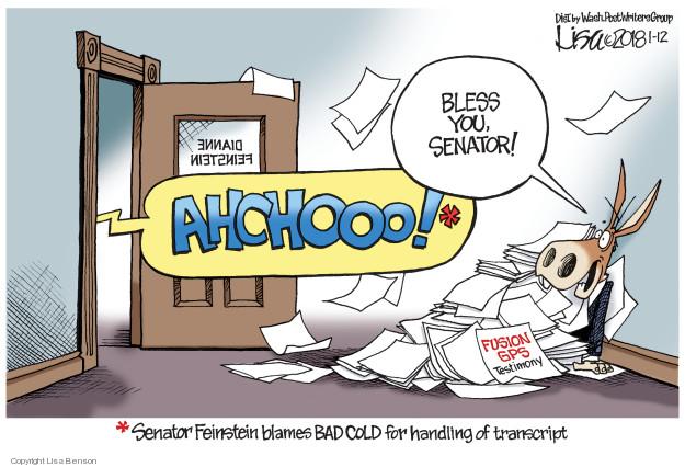 Cartoonist Lisa Benson  Lisa Benson's Editorial Cartoons 2018-01-12 editorial