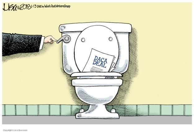 Lisa Benson  Lisa Benson's Editorial Cartoons 2018-01-13 civil rights