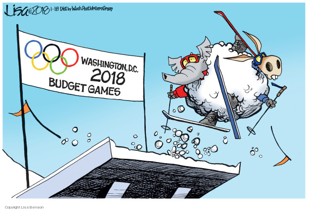 Lisa Benson  Lisa Benson's Editorial Cartoons 2018-01-18 federal budget