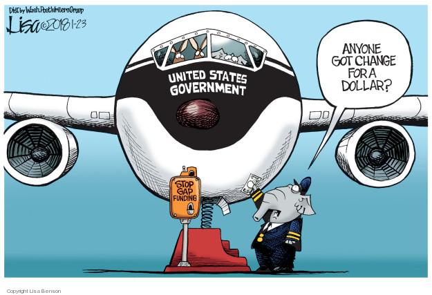 Cartoonist Lisa Benson  Lisa Benson's Editorial Cartoons 2018-01-23 editorial