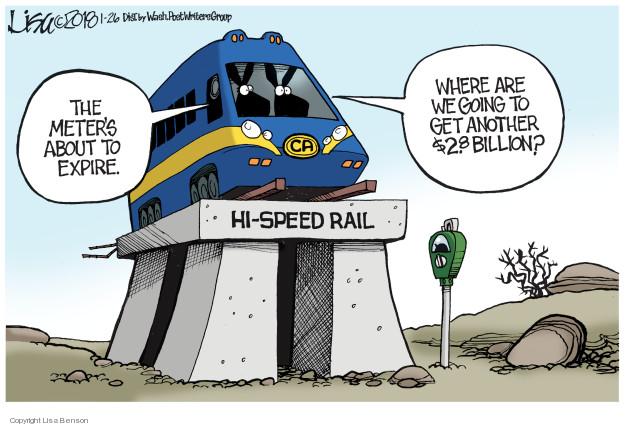 Cartoonist Lisa Benson  Lisa Benson's Editorial Cartoons 2018-01-26 speed