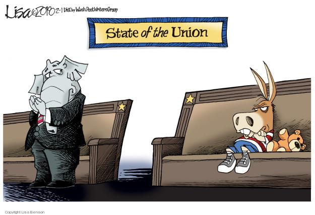 Cartoonist Lisa Benson  Lisa Benson's Editorial Cartoons 2018-02-01 editorial