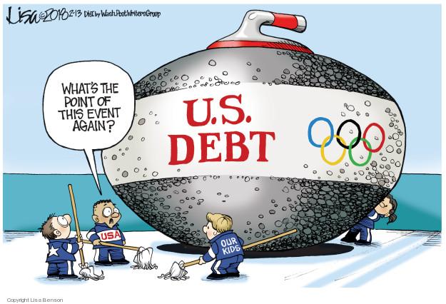 Cartoonist Lisa Benson  Lisa Benson's Editorial Cartoons 2018-02-13 federal budget