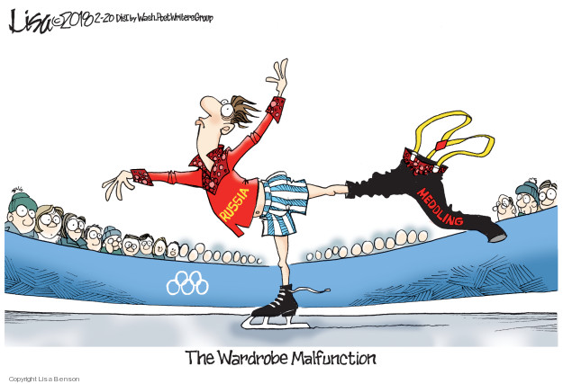 Lisa Benson  Lisa Benson's Editorial Cartoons 2018-02-20 winter Olympics