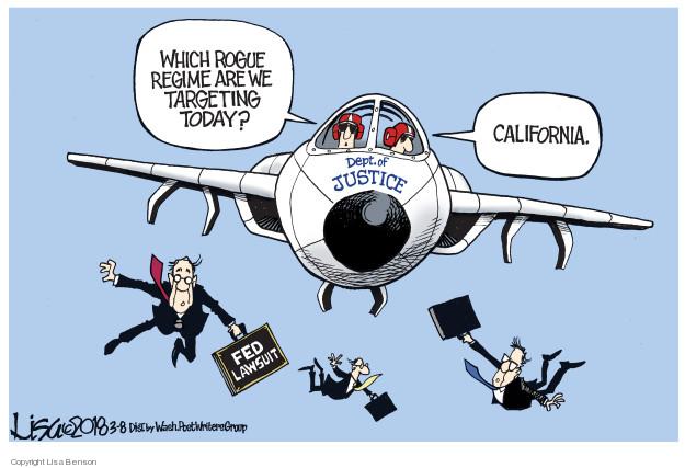 Cartoonist Lisa Benson  Lisa Benson's Editorial Cartoons 2018-03-08 immigration