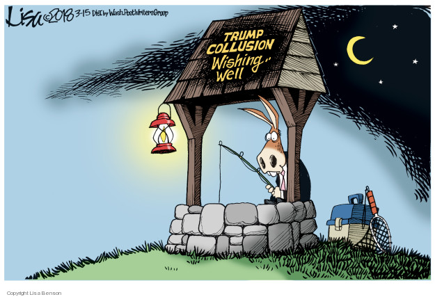 Trump Collusion Wishing Well.