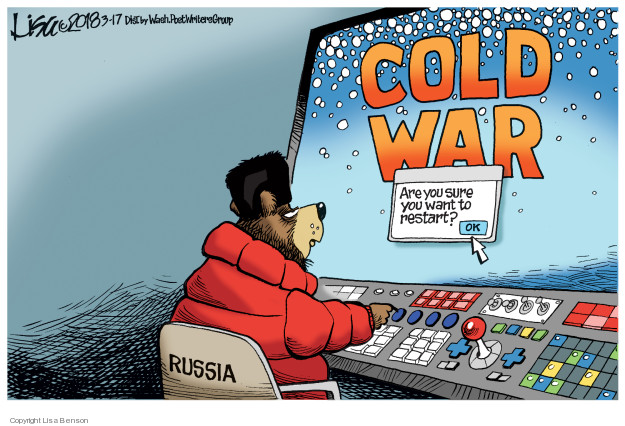 Cold War. Are you sure you want to restart? Ok. Russia.