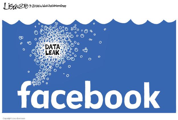 Data leak. Facebook.